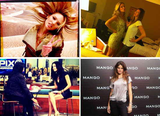 Celebrity Fashion Twitter Pictures from Victoria's Secret Angels, Roberto Cavalli, Rachel Gilbert