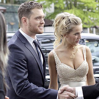 Michael Bublé and Luisana Lopilato Wedding Pictures in Vancouver