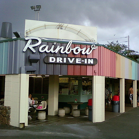 Rainbow Drive-In, Honolulu, Hawaii