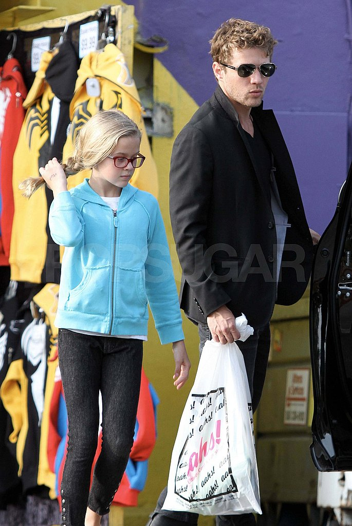 Ryan and Ava Phillippe Have a Fun Father-Daughter Outing