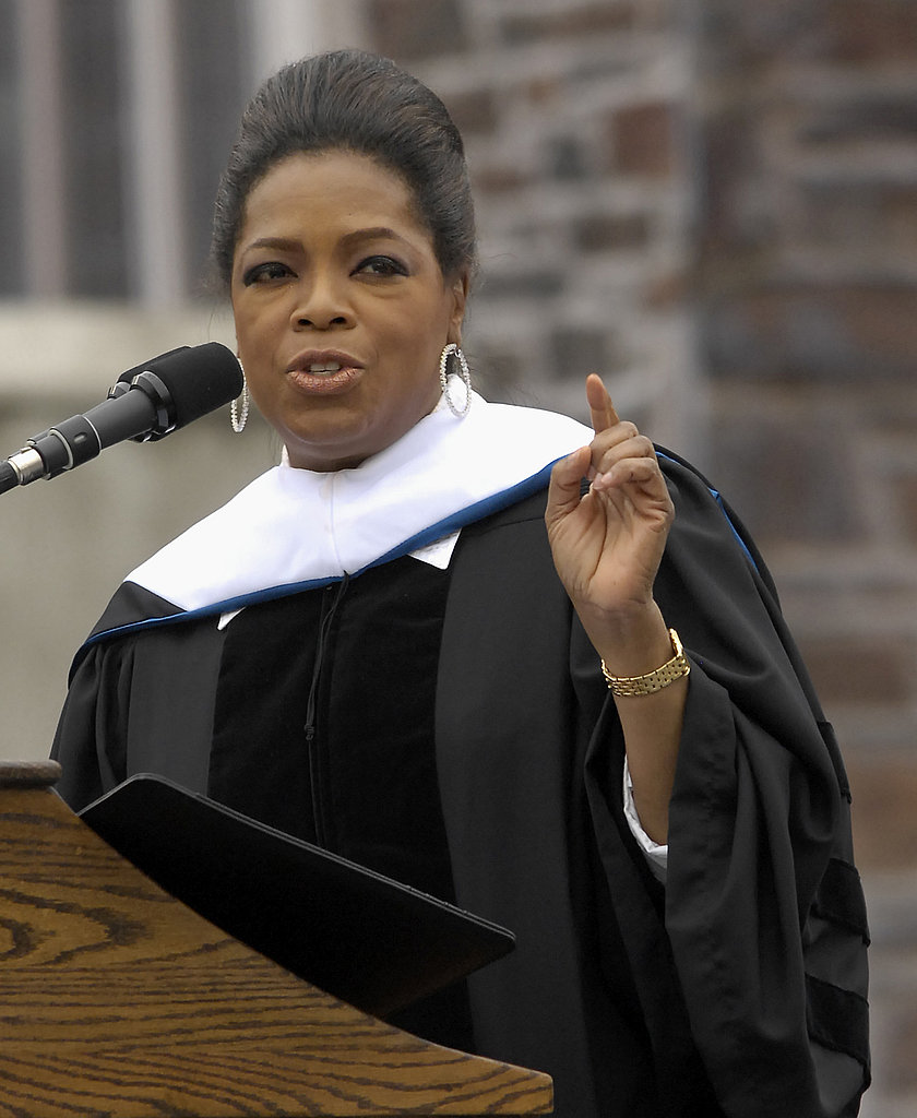 a reaction paper on the oprah winfrey show in class 2018-08-12 her syndicated television program, the oprah winfrey show,  all the angels did proclaim' oprah winfrey's public speaking career began in 1957 at three, she was  oprah's lifeclass, on the oprah winfrey.