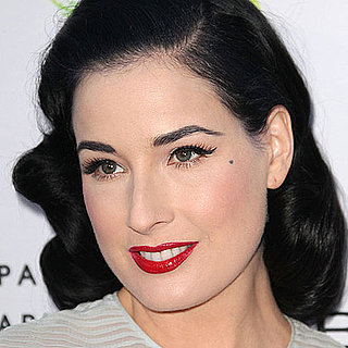 Dita Von Teese Uses Just For Men to Dye Her Eyebrows 2011-05-24 10:50:51