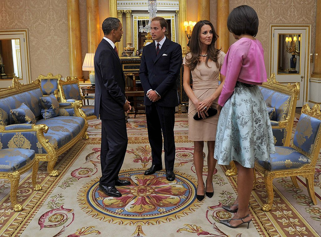 Prince William and Kate Middleton Wrap Up Their Honeymoon and Welcome the Obamas to the UK