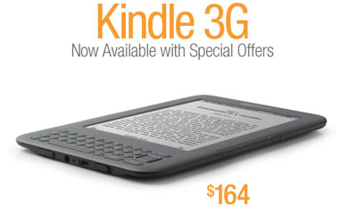 3G Kindle With Ads