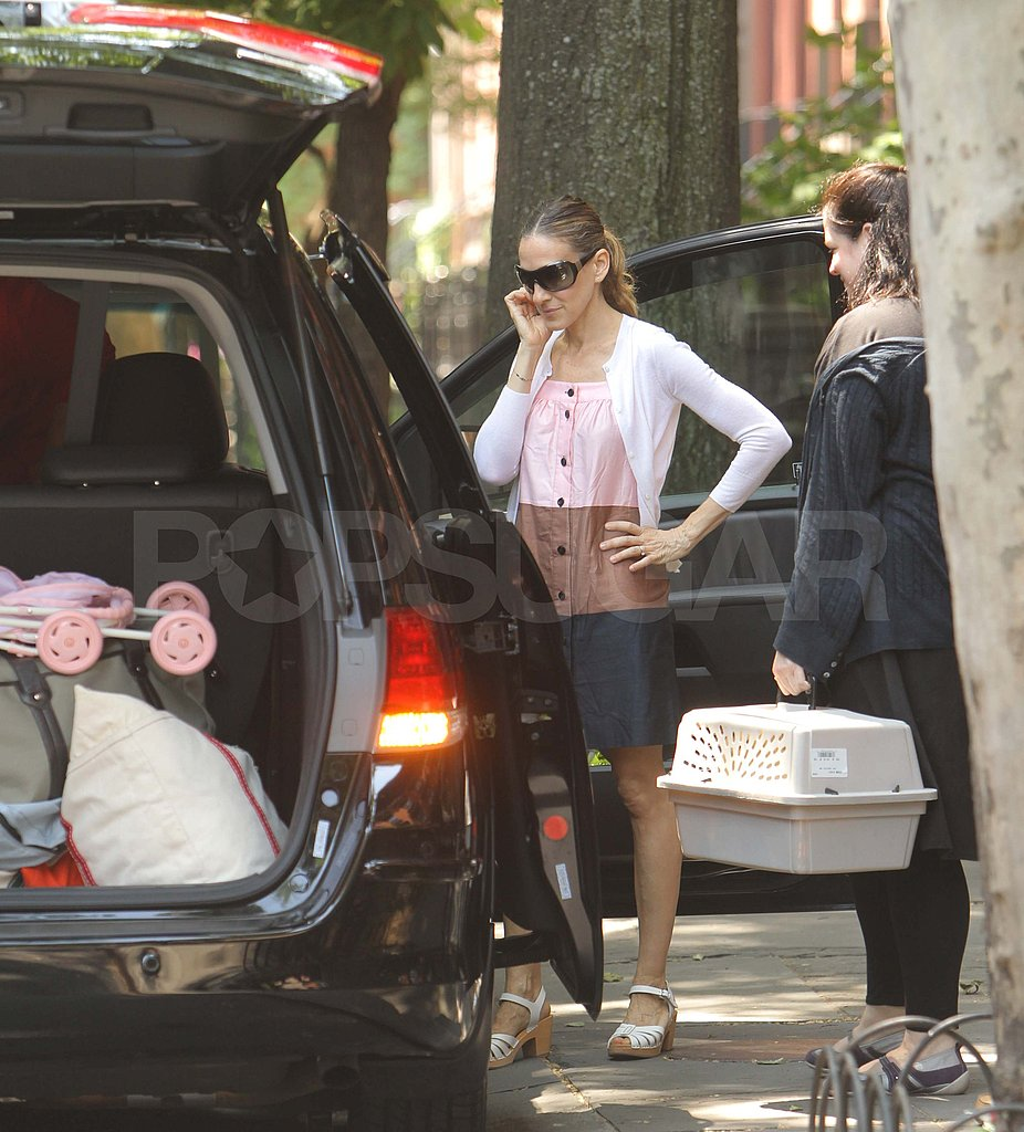 SJP and Matthew Broderick Pack Up Their Twins and Head Out of Town