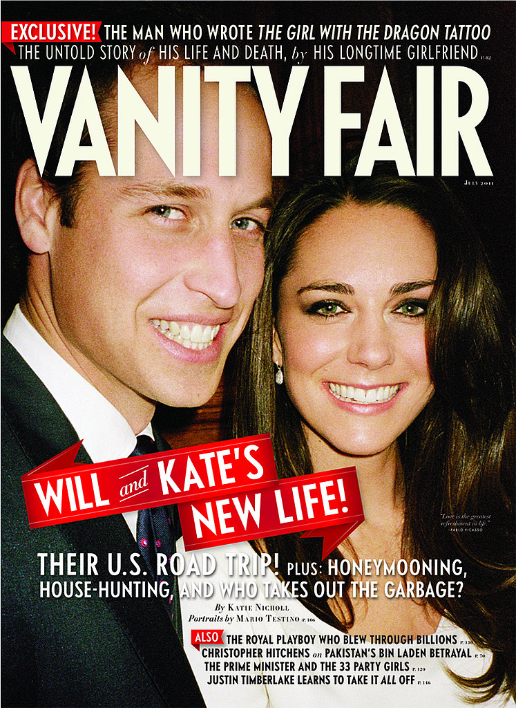 Check Out a Never-Before-Seen Photo of Prince William and Kate Middleton on Vanity Fair!