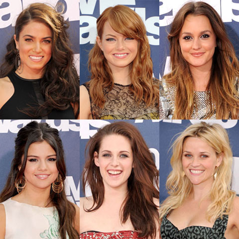 Wavy Hairstyle Trend at the 2011 MTV Movie Awards 2011-06-05 20:15:00