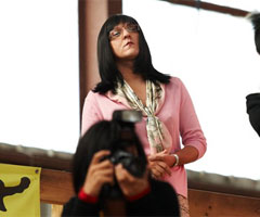 Chris Lilley Plays Japanese Tiger Mother Jen Okazaki on Angry Boys