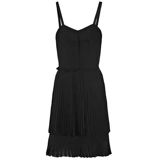 The little (pleated) black dress.  See by Chloé Pleated Crepe Dress, $540