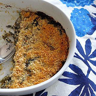 Creamy Dandelion Greens With Goat Cheese Gratin Recipe