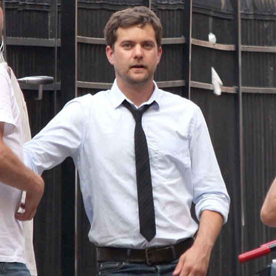 Pictures of Joshua Jackson Filming Lay the Favorite