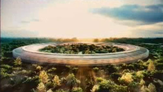 """Steve Jobs Wants to Build This Futuristic """"Spaceship"""" Campus in Cupertino"""