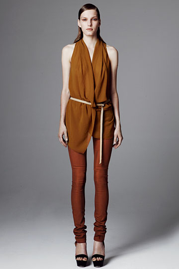 Helmut Lang Resort 2012 Collection Photos