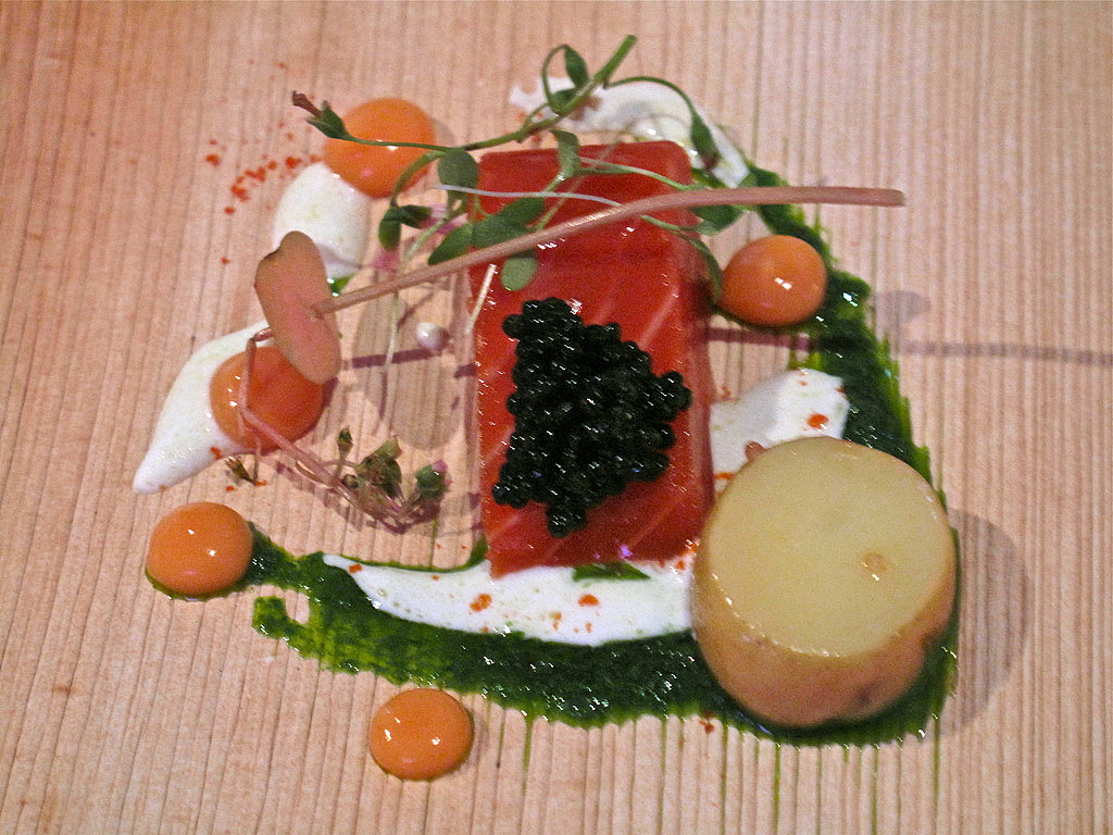 House-smoked salmon