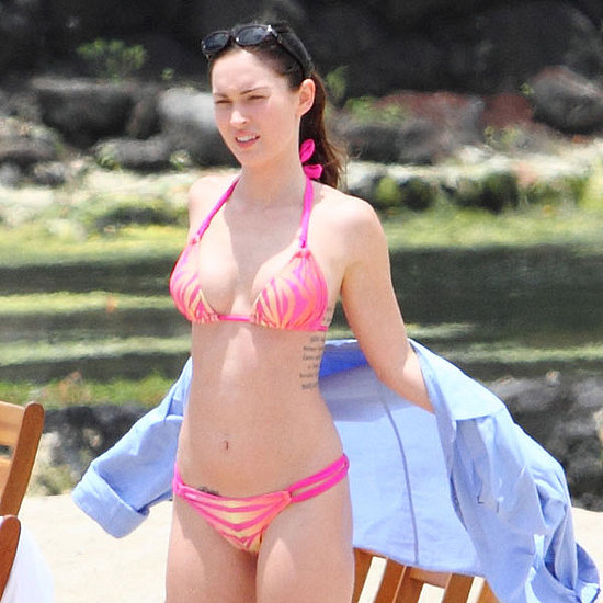Bikini Pictures of Megan Fox With Shirtless Brian Austin Green