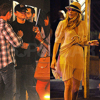 Blake Lively and Leonardo DiCaprio Pictures in NYC