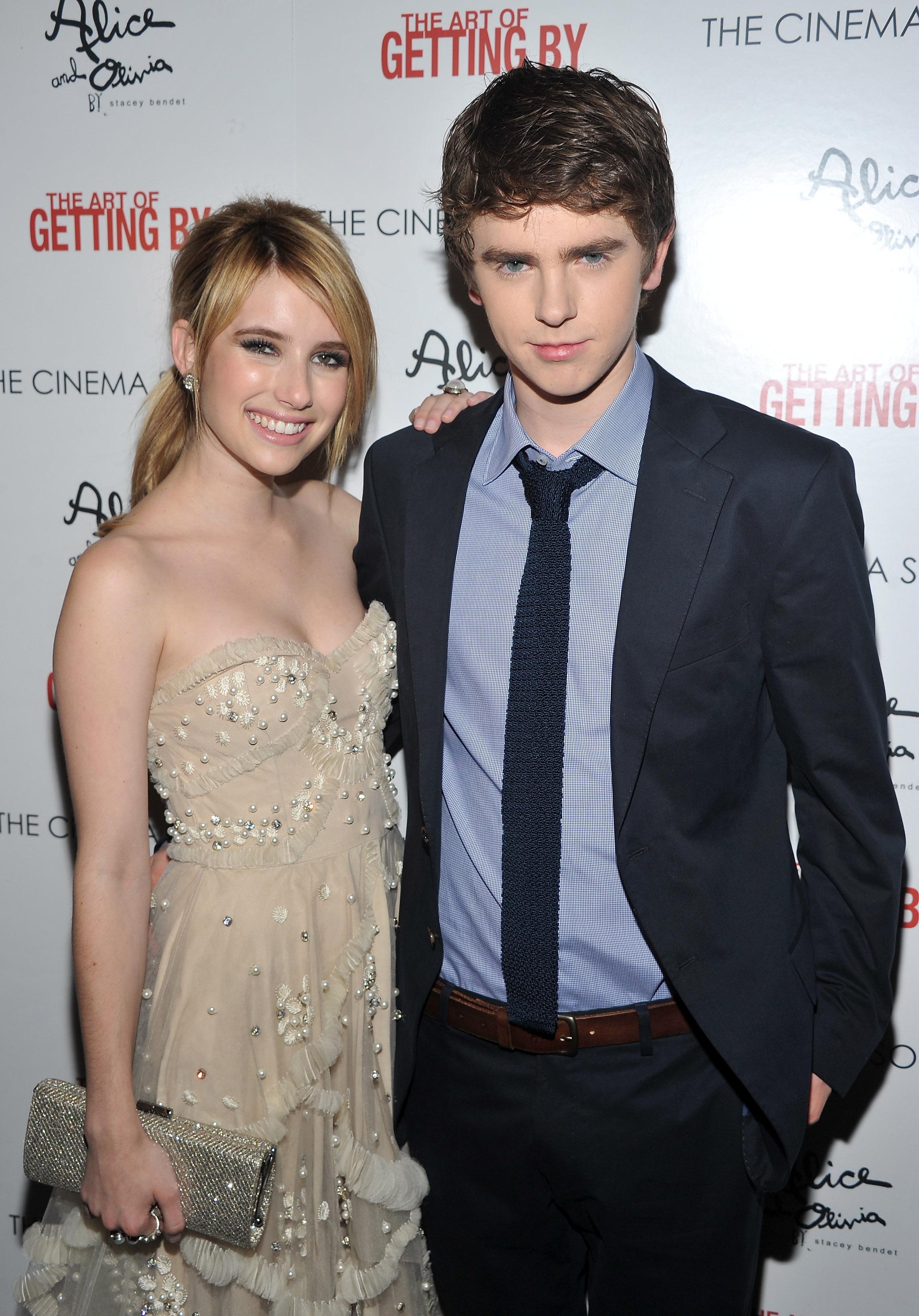 highmore singles Played by freddie highmore, who is doomed to remind many of us of his  but i  was disappointed by the lack of imagination in the single-cam.