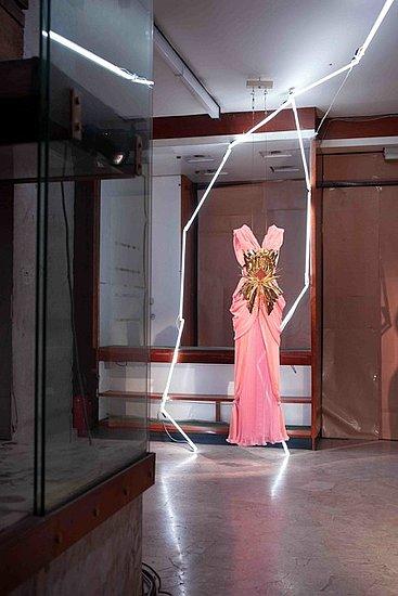 Rodarte Resort 2012 Collection Exhibit at Pitti W
