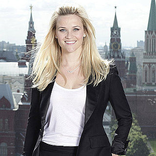 Pictures of Reese Witherspoon in Russia For Avon