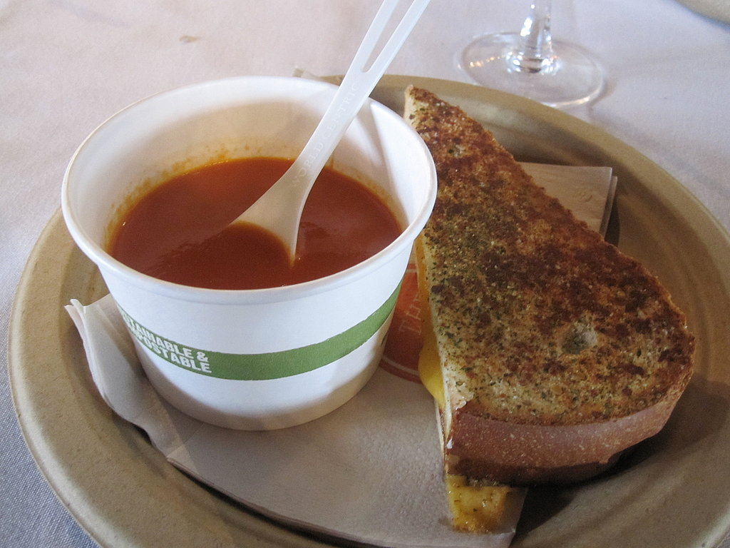 The seasoning was a nice touch, but I longed for the crisped goodness that comes from a slather of butter on the outside of the bread. The melt was warm and the bread was browned and the sandwich was definitely satisfying and comforting.