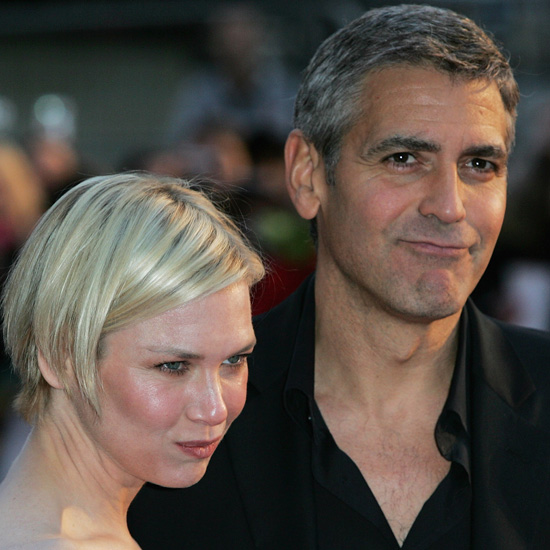 """George Clooney and Renée Zellweger dated """"a little bit,"""" according to the actor. They've also been costars in Leatherheads and friends for well over a decade."""
