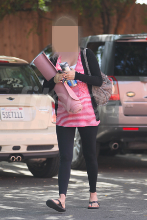 Guess Which Celebrity Was Spotted Leaving Yoga Class?