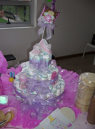 Baby shower in purple!!!!