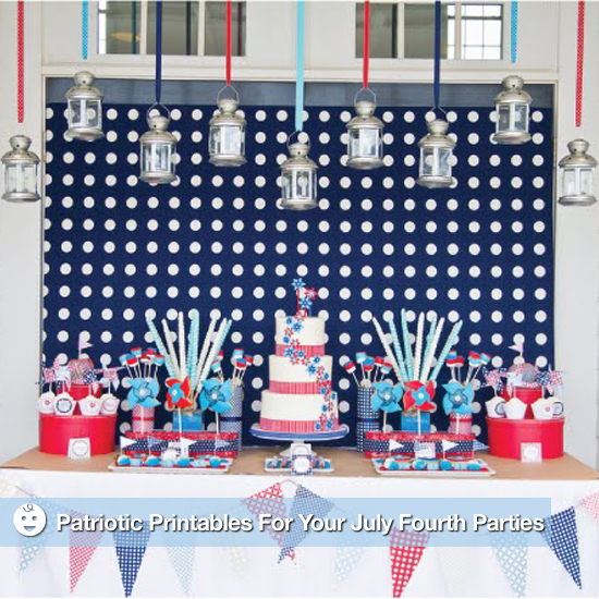 Printable fourth of july party decorations popsugar moms for 4th of july party decoration