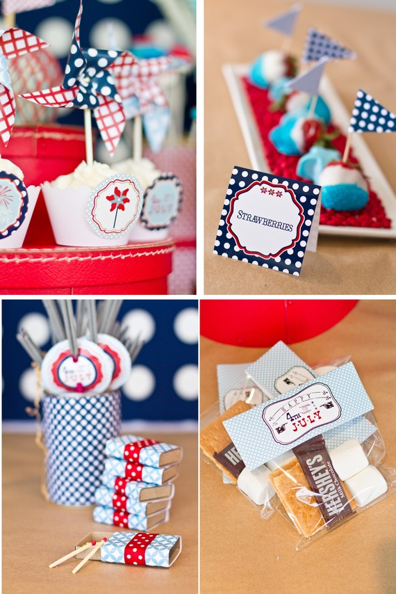 Fourth of July Printable Collection ($15)