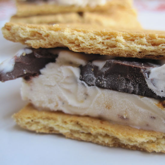 S'more Ice Cream Sandwich Recipe