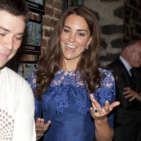 Prince William and Kate Middleton Pictures at a Quebec Youth Project