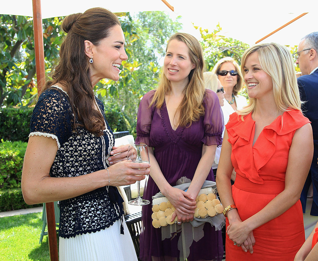 Kate Middleton and Reese Witherspoon in LA.