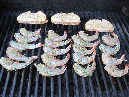 Easy Grilled Shrimp Recipe 2011-07-05 13:56:55