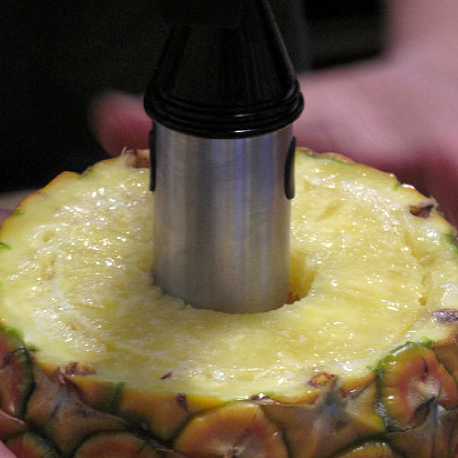 How to Use a Pineapple Slicer and Corer