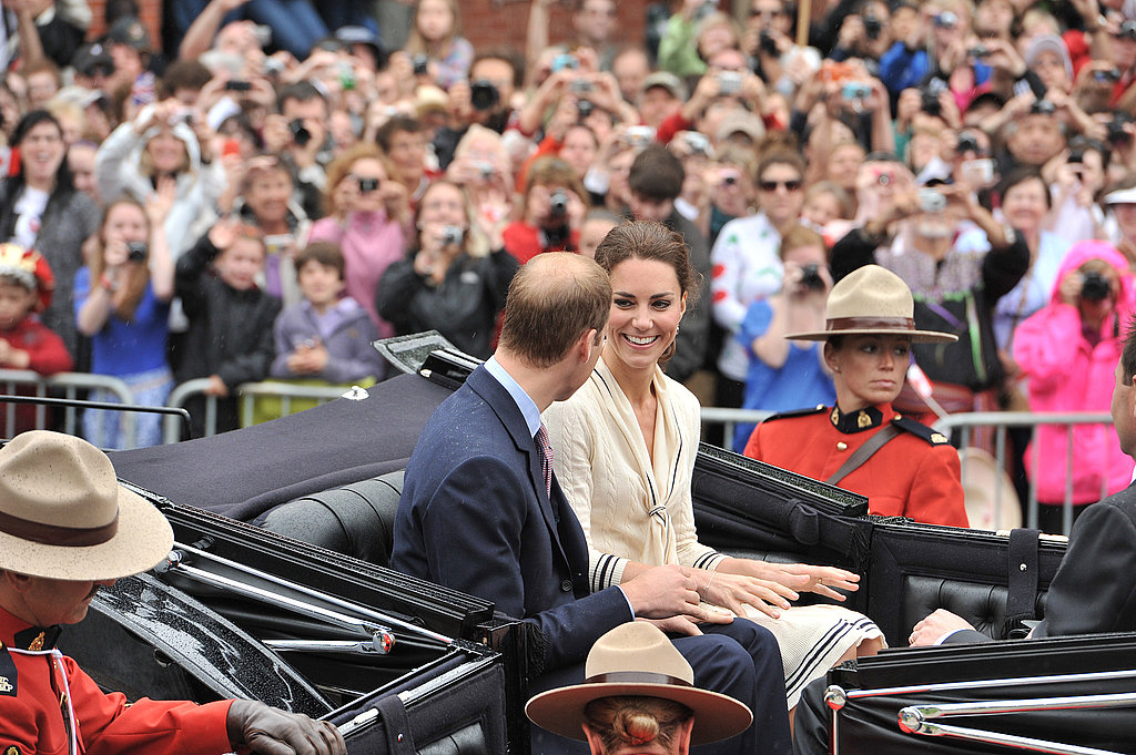 Kate Middleton and Prince William were in Canada on July 4.