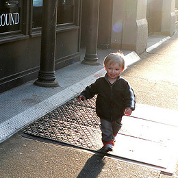Tips For Getting Your Toddler to Walk With You in Public