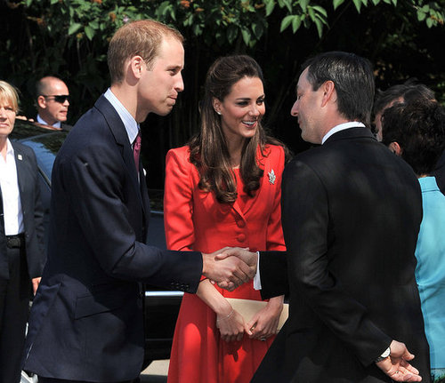 Kate Middleton and Prince William said goodbye to Canada.