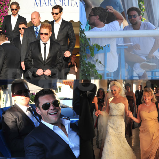 Ryan Kavanaugh and Britta Lazenga Wedding Guests