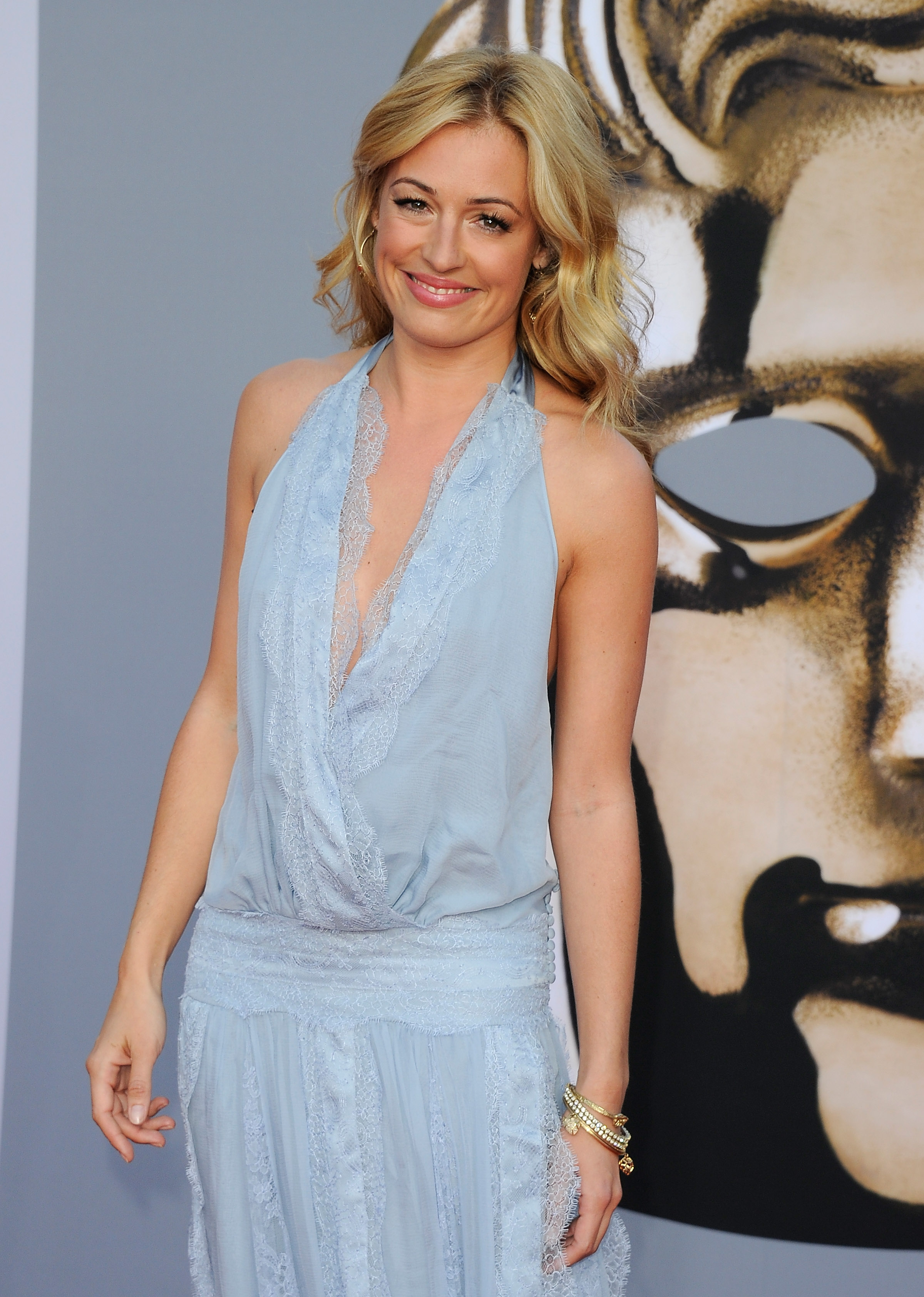 Host Cat Deely at the BAFTA Brits to Watch event in LA.