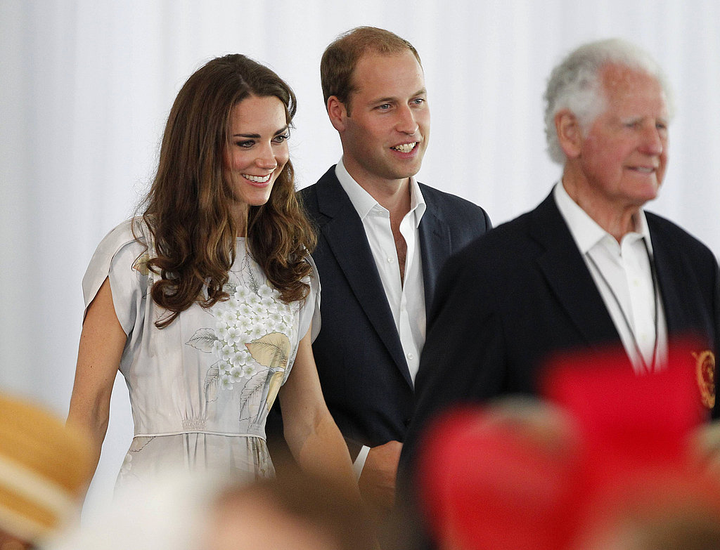 Prince William and Kate Middleton in Santa Barbara.
