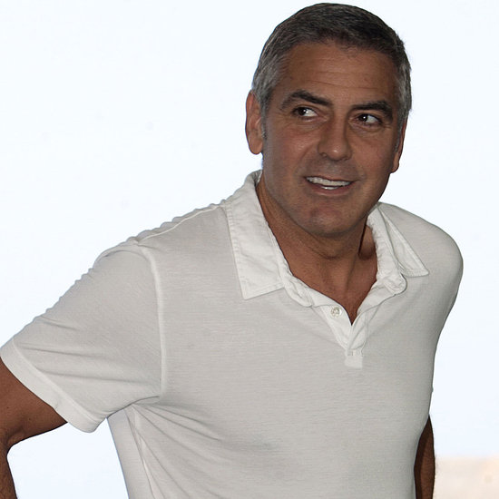 George Clooney at an Ides of March Photocall in Cancun
