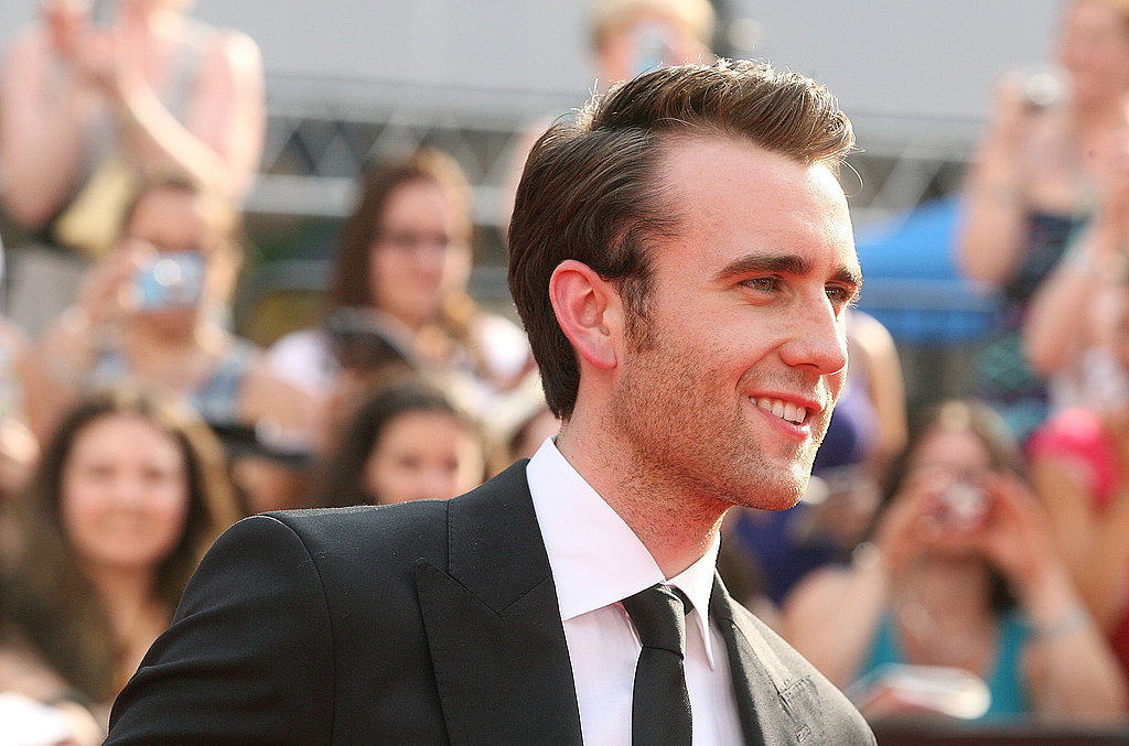 Matt Lewis flashes his swoon-worthy smile at the NYC premiere of Harry Potter and the Deathly Hallows Part II.