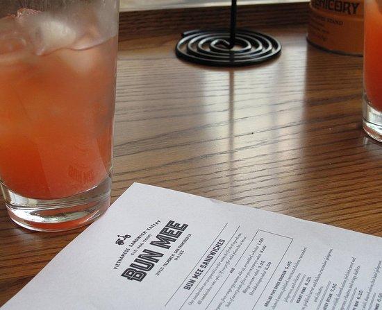 Strawberry-Lychee Lemonade