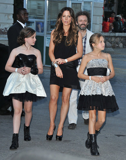 Lily Sheen and Kate Beckinsale at the Toronto Harry Potter Premiere.