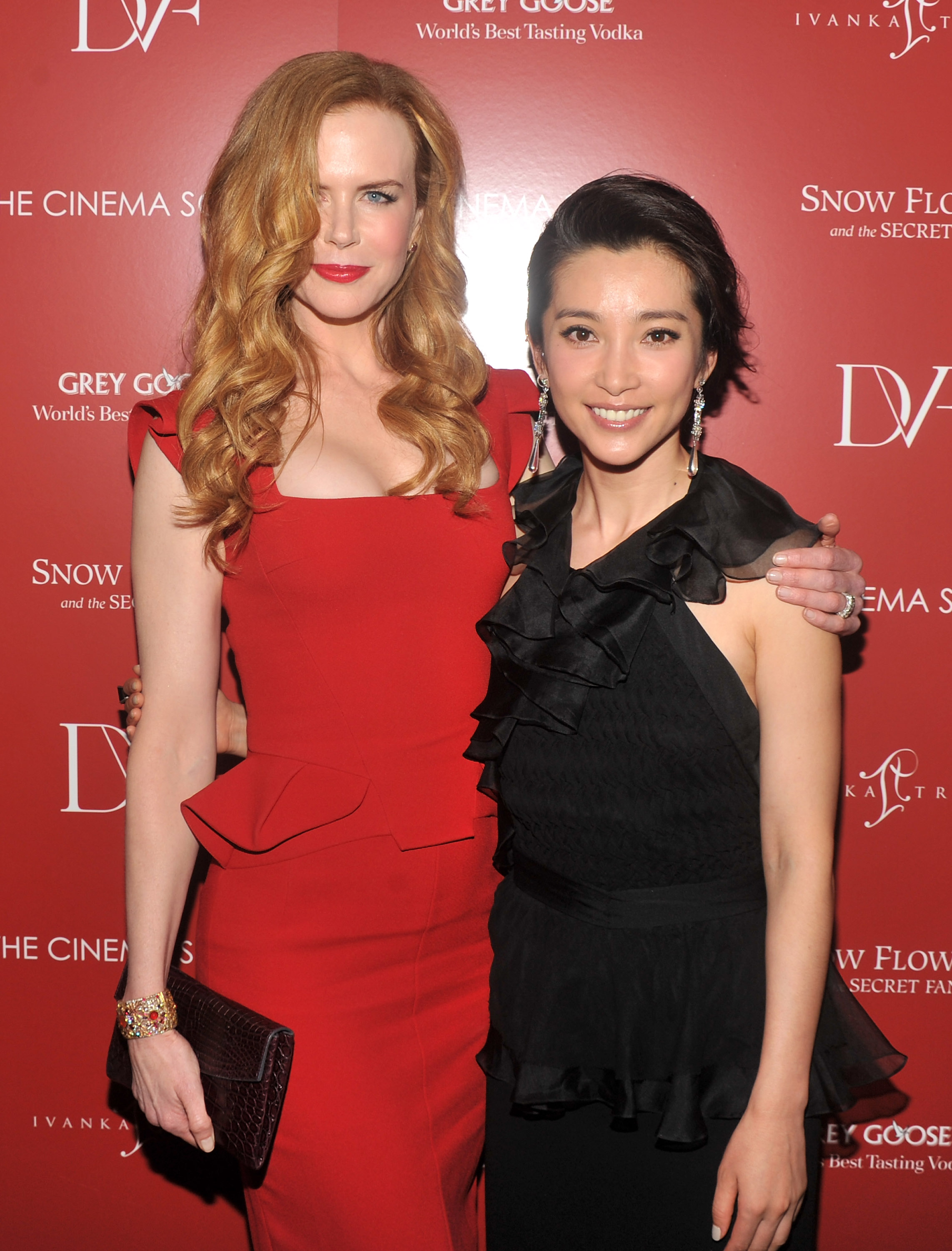 Nicole Kidman and Li Bingbing