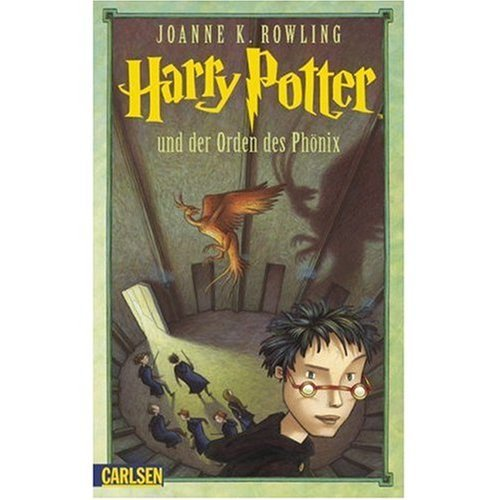 Harry Potter Book Cover Order Of The Phoenix ~ German harry potter and the order of phoenix