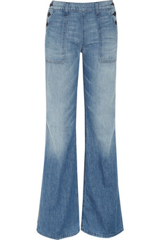 The high-waist and vintage wash feels perfect for a lazy day in the country — but just as well suited for hanging in the city.   Textile Elizabeth and James Bette High-Rise Jeans ($225)