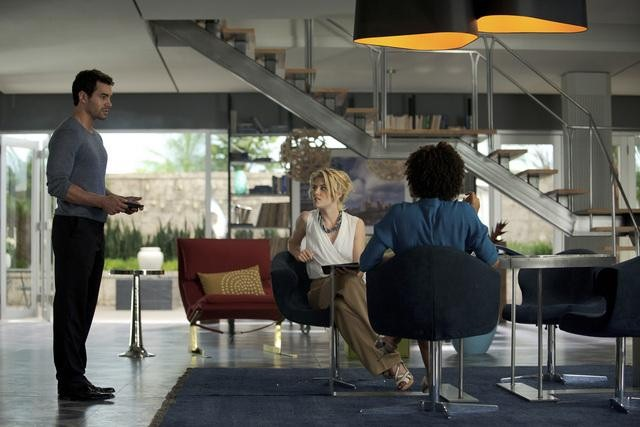 Rachael Taylor, Ramon Rodriguez, and Annie Ilonzeh in ABC&#039;s Charlie Angels.</p> <p>Photo copyright 2011 ABC, Inc.
