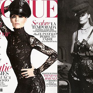 Katie Holmes Gets Racy in Leather and Lace For Vogue Spain