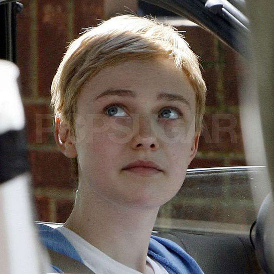 Short-Haired Dakota Fanning Pictures Filming Now Is Good